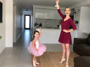 BALLET TIME: Self-isolation won't stop kids dancing