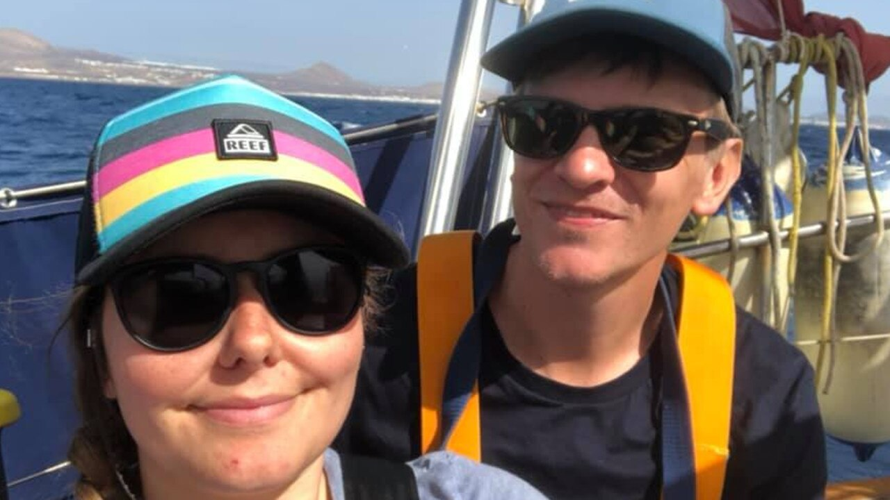 Couple sailing around the world had no idea about coronavirus pandemic. Picture: Facebook