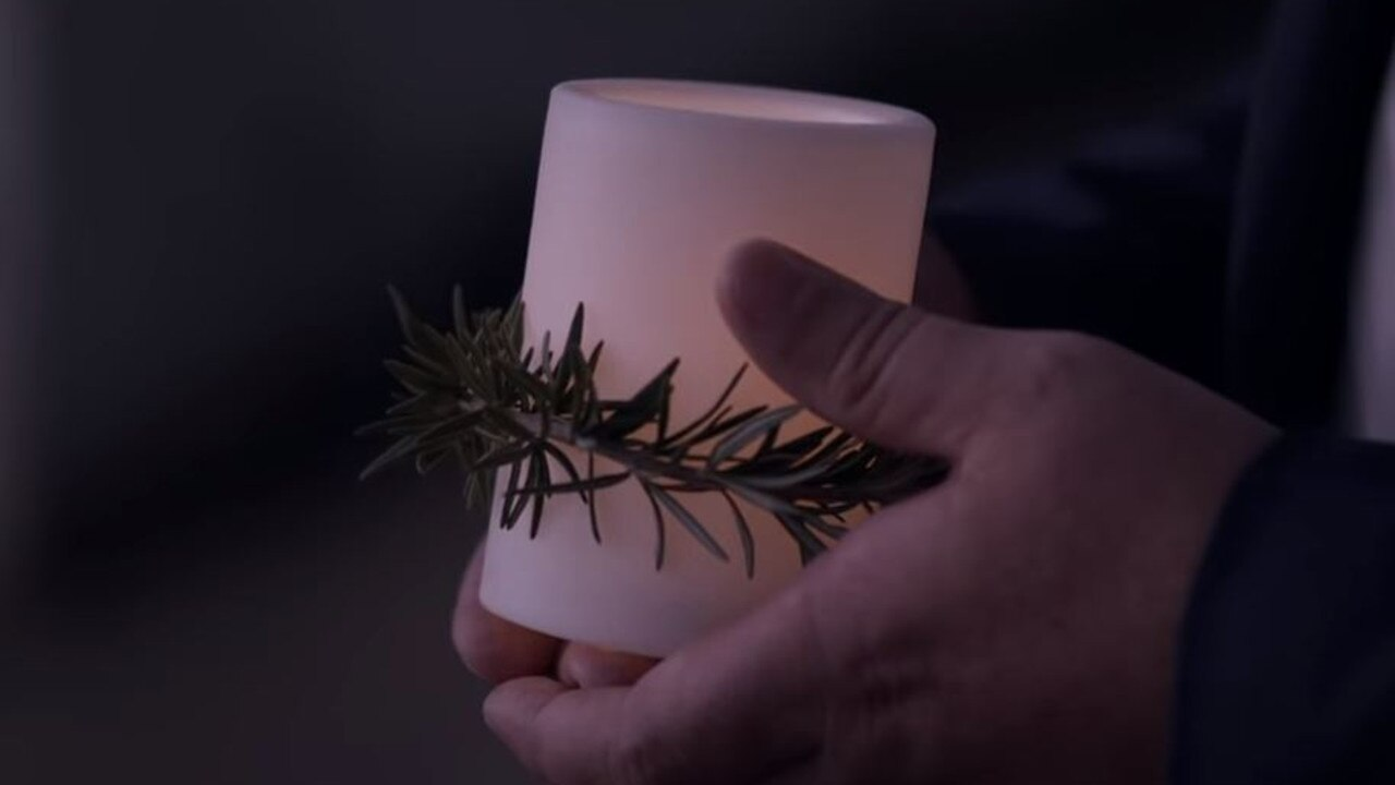 You can use a candle, torch or mobile phone light to #lightupthedawn. Picture: RSL Queensland