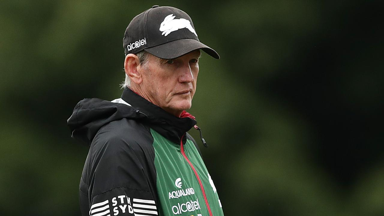 Wayne Bennett was nearly sprung by two South Sydney favourites. Picture: Mark Metcalfe/Getty