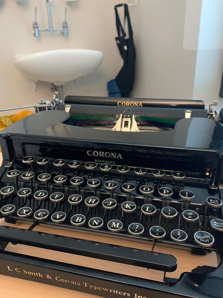 Tom Hanks gifts beloved typewriter to Gold Coast boy. Picture: @tomhanks/Instagram