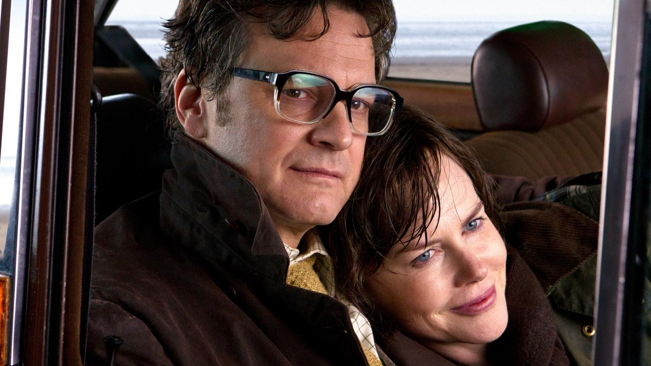 Colin Firth and Nicole Kidman in The Railway Man.