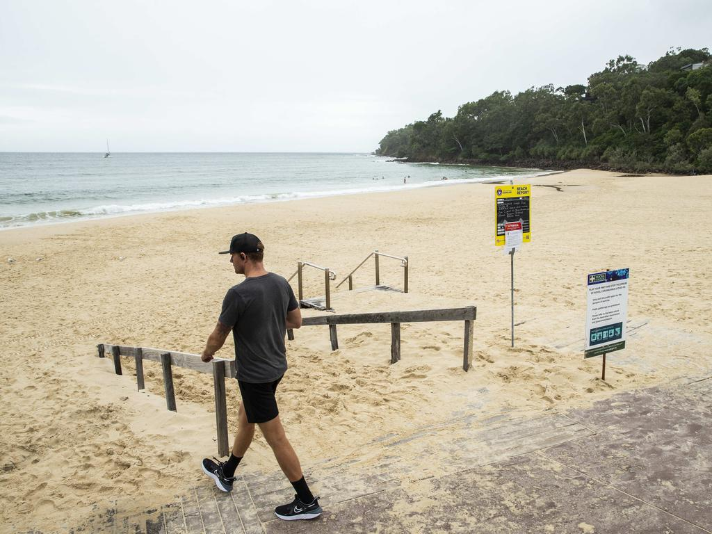 Experts have predicted what industries and sectors will be the first to reopen in wake of the coronavirus pandemic, with beaches and national parks a while off yet. Photo Lachie Millard