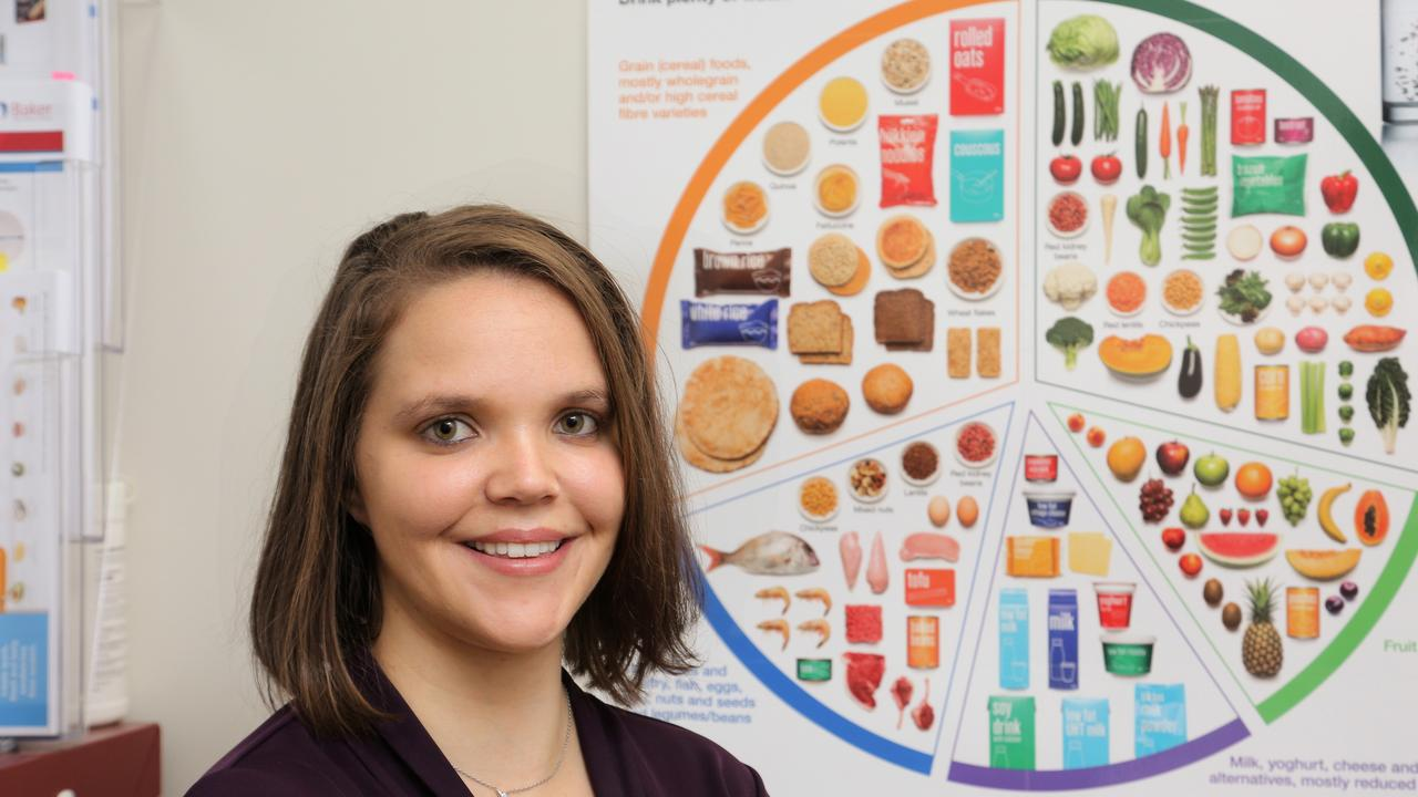 DIGITAL CONNECTION: IWC accredited practising dietitian Chloe Bauer is among healthcare professionals using telehealth for consultations.