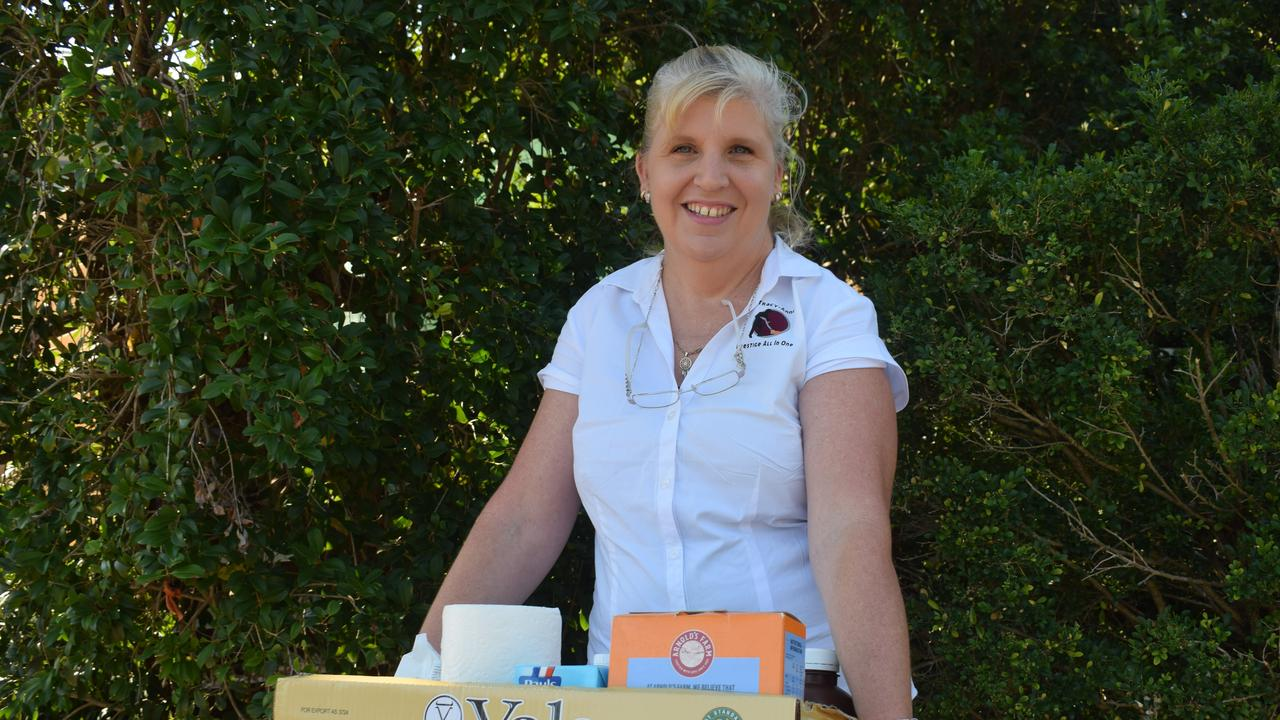 Tracy-anne Beecroft has delivered grocery packs to those less fortunate in the region.