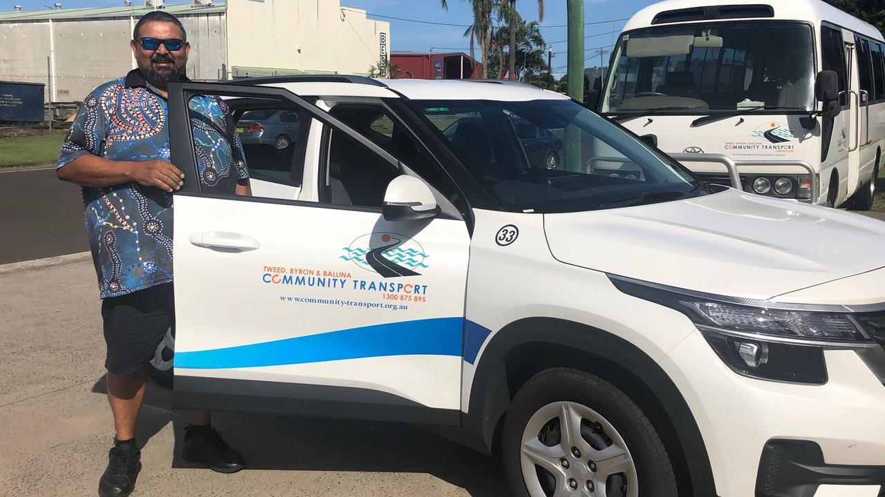 Ballina-based driver Maddison and the new TBBCT fleet car.