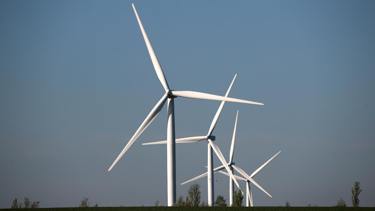 Two wind farm projects have been proposed for the region but only one appears to be making progress.
