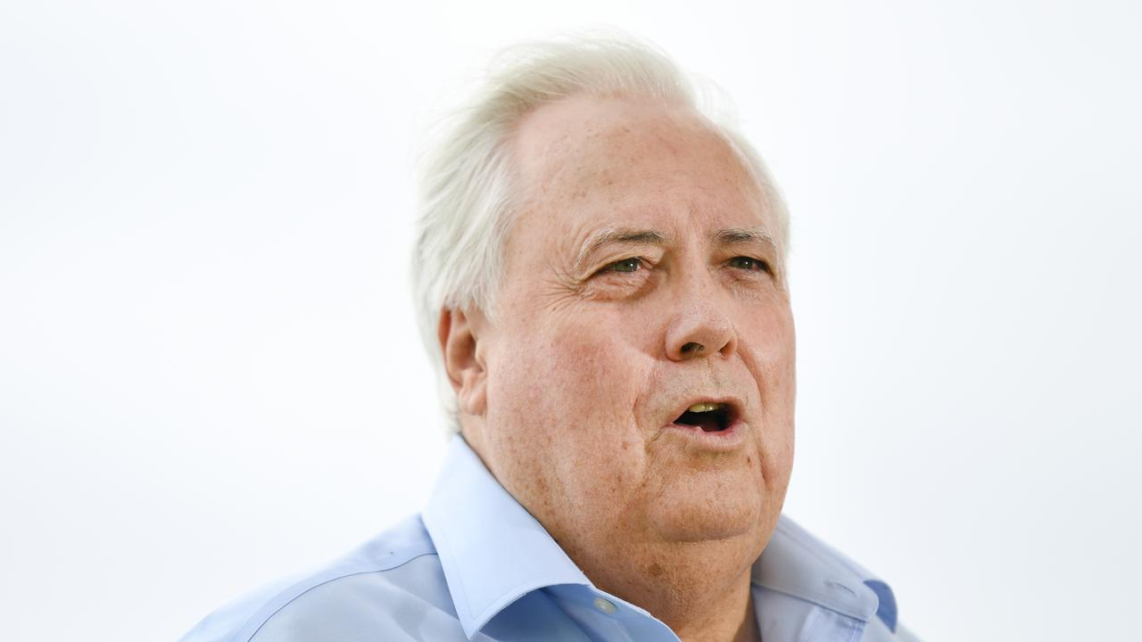 Businessman Clive Palmer will donate 40 million doses of hydroxychloroquine to the national stockpile. Picture: Dan Peled/AAP