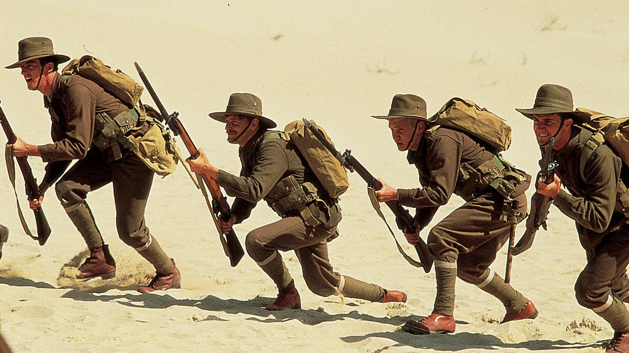 A scene from Gallipoli, which was directed by Peter Weir.