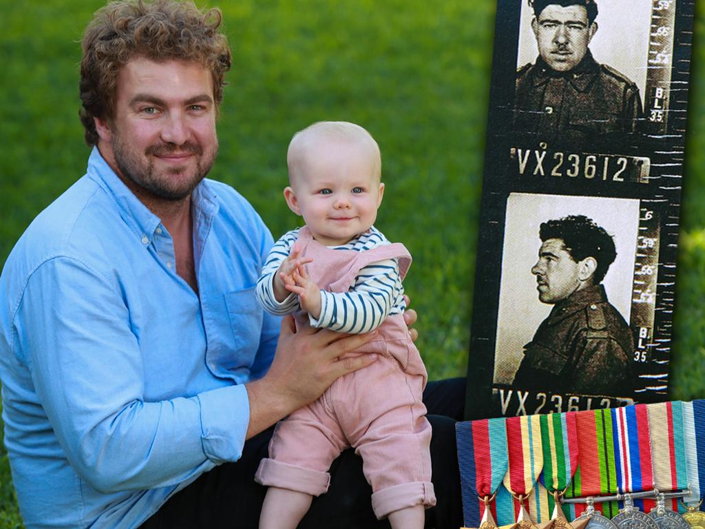 Tom Griffin has been researching his grandfather's Anzac history.