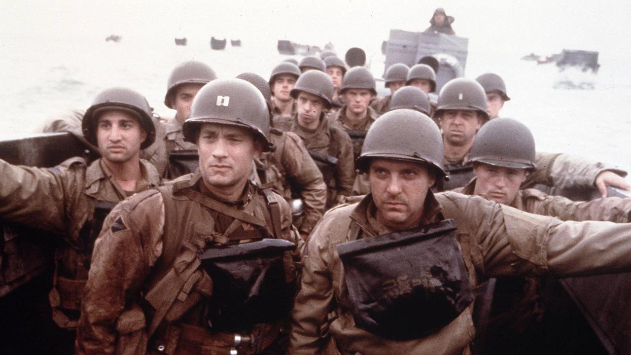 Tom Hanks starred in 1998 film Saving Private Ryan.