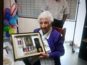 101-year-old war nurse 'recalls good times'