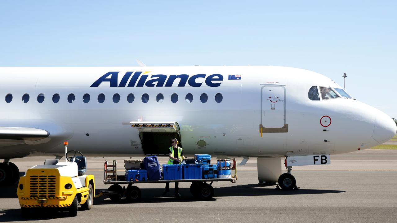 IN DOUBT: Alliance leader confirmed the airline would only continue commercial flights to and from Emerald if Virgin Australia requested it. Picture: Jonathan Ng