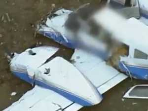 Mid-air plane collision 'unusual', investigation declares