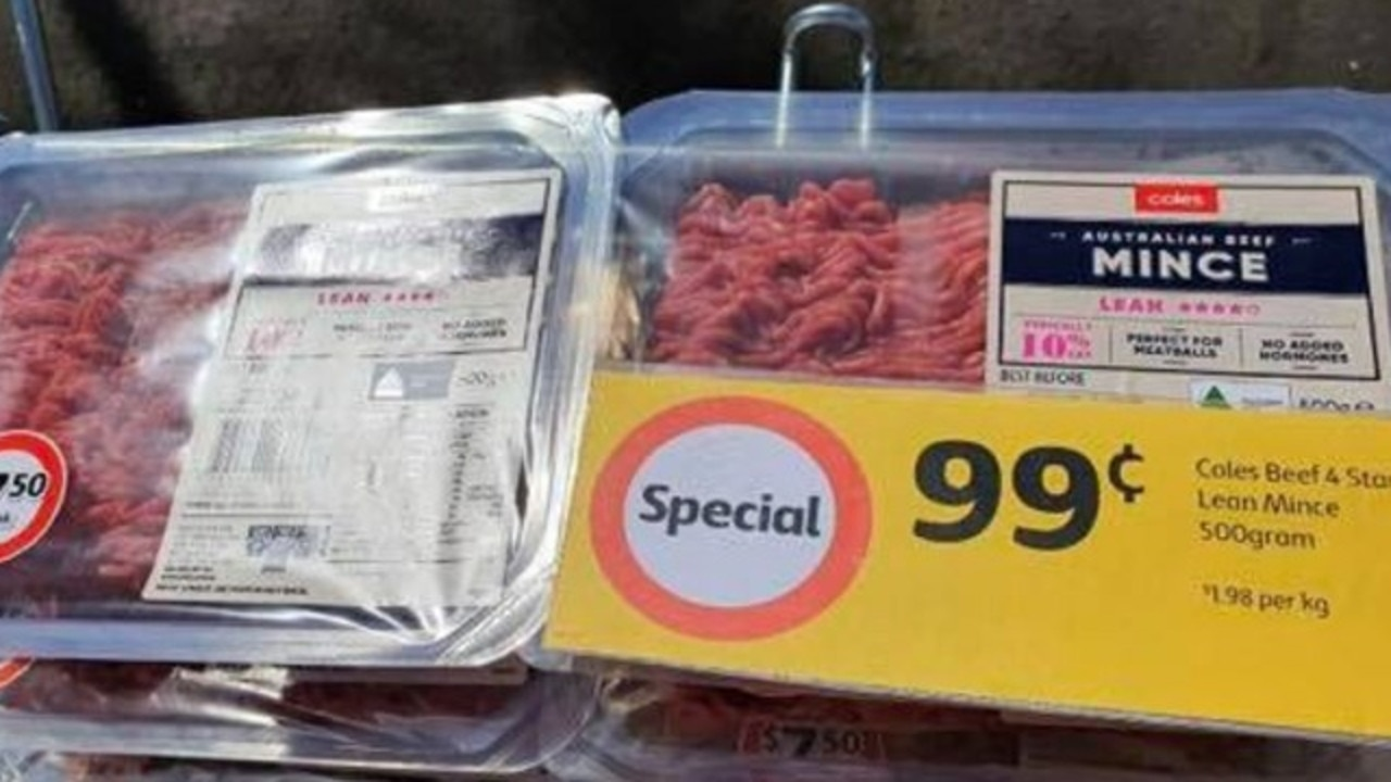 Coles slashes basic items to just $1. Picture: Facebook / Markdown Addicts Australia