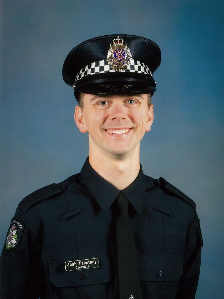 Constable Joshua Prestney. Picture: Victoria Police