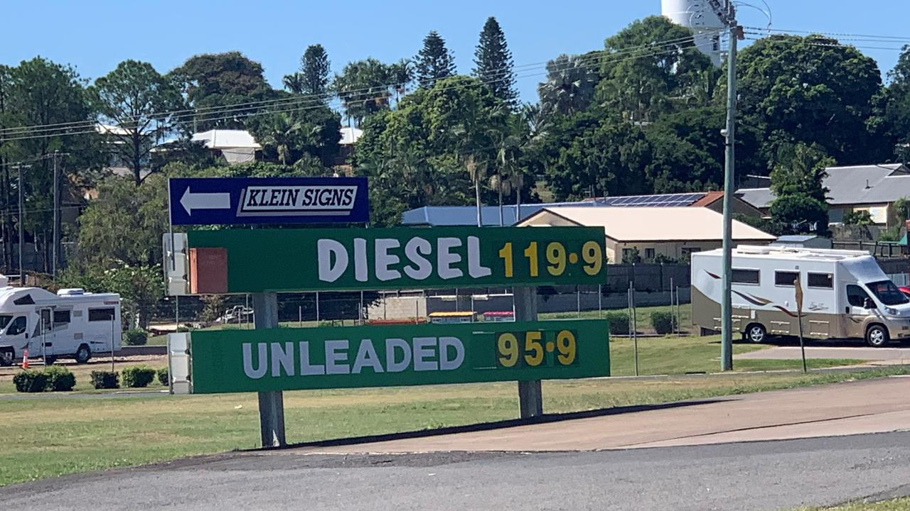 CHEAP PETROL: Fuel prices have plummeted in Maryborough.