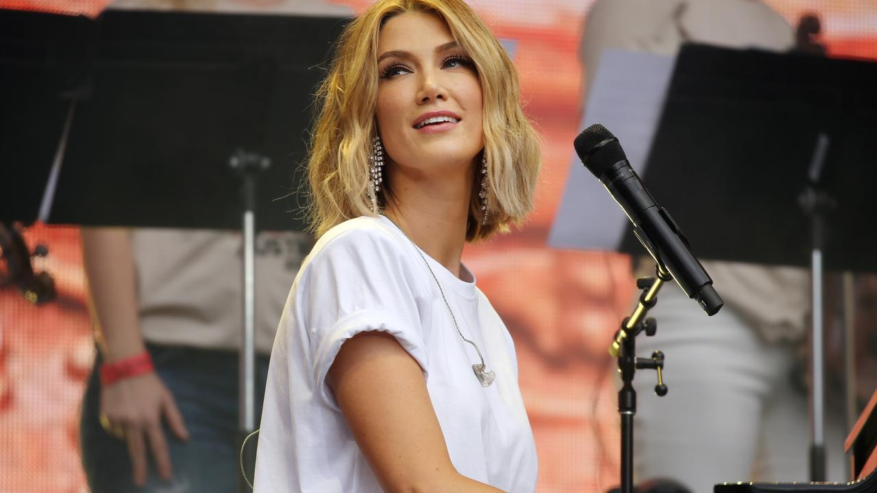 Delta Goodrem will perform among others for the Music From The Home Front concert. Picture: Richard Dobson