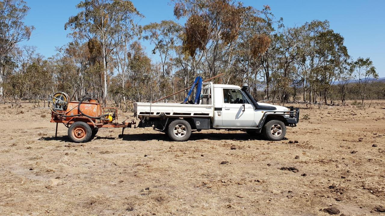 TOUGH TIMES: The Tenterfield region faced the worst drought in living memory after more than 22 months of prolonged hot and dry conditions. Photo: Grant Johnston