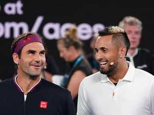 Kyrgios no fan of Federer's radical plan for tennis