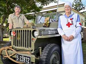 Anzac Day show must go on for Jeeps