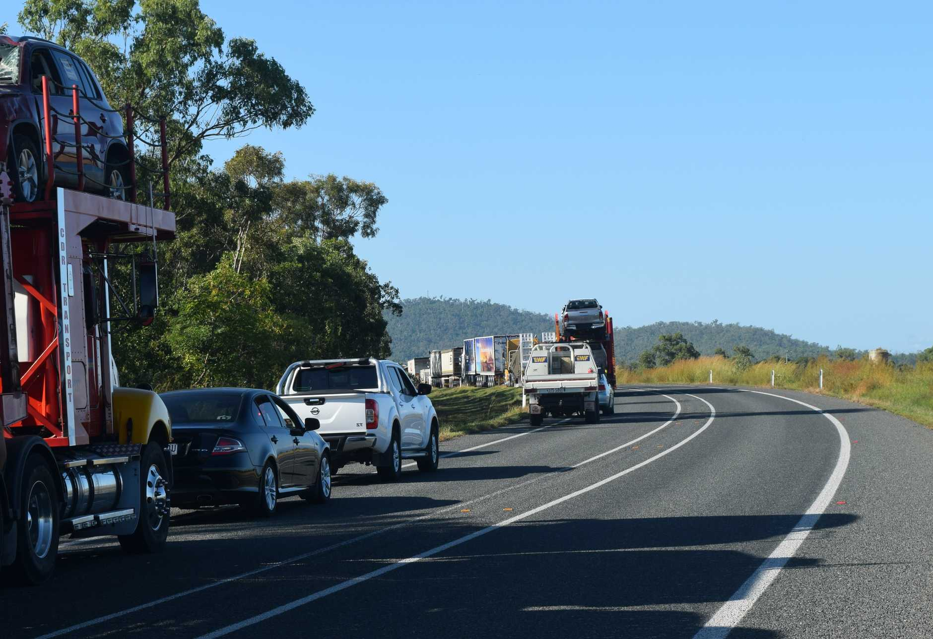 The Bruce Highway is now open.