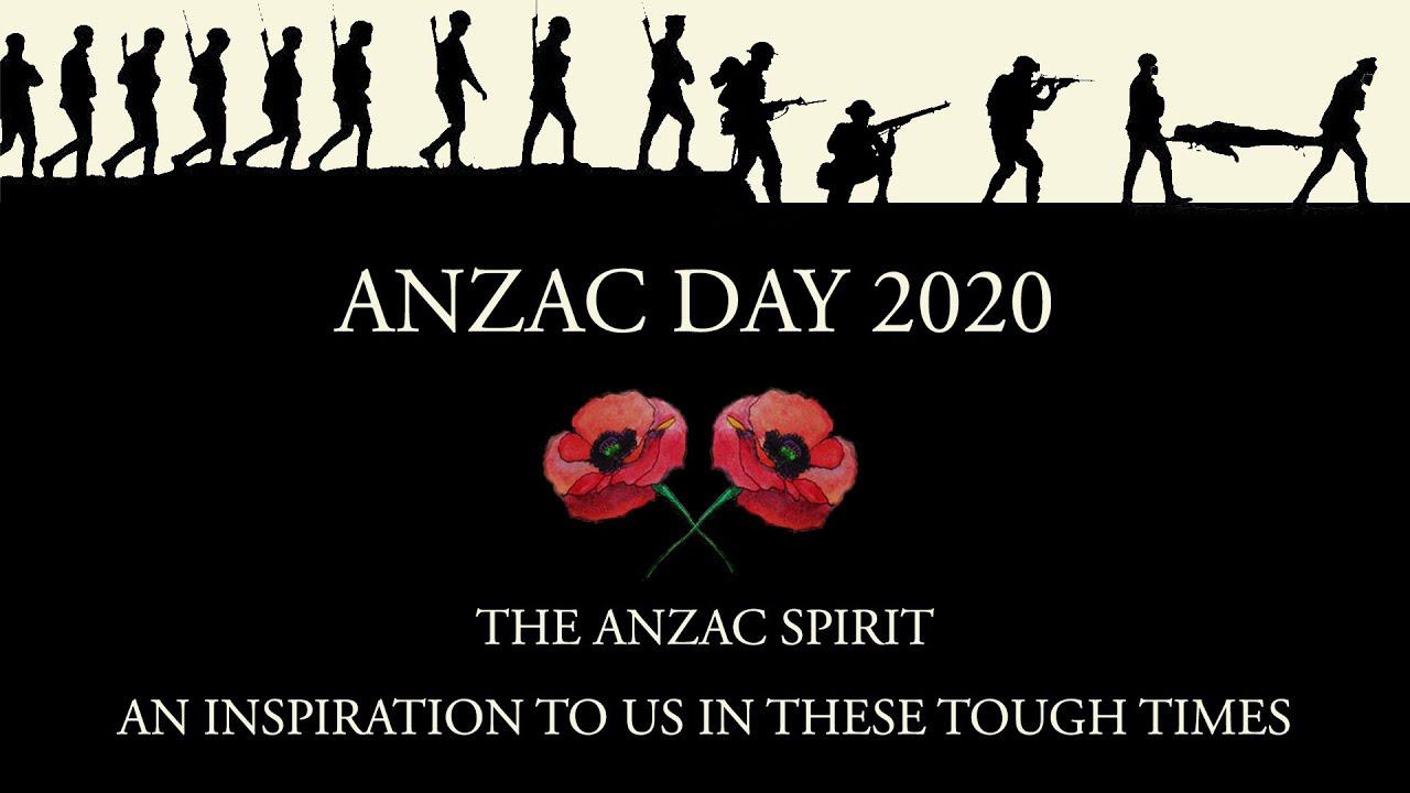 Anzac Day 2020.