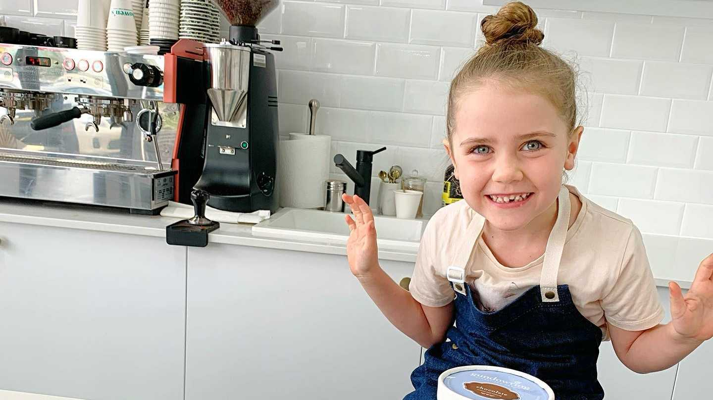 Scarlett is the youngest team member at Bowen's Delicatessen and Fine Foods