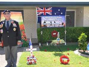 Veteran's personal ANZAC Day tribute