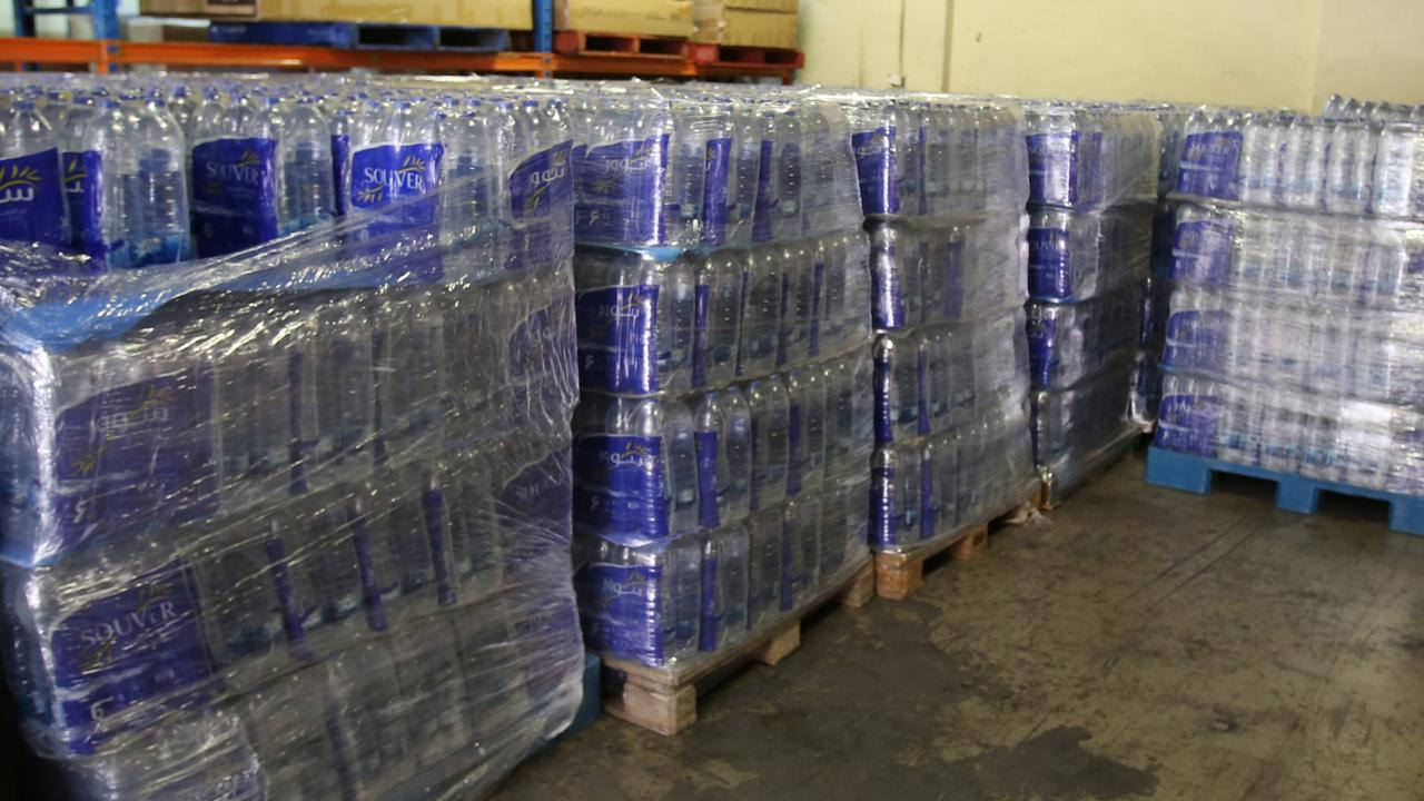Police $80m worth of liquid meth allegedly smuggled from Iran in water bottles.