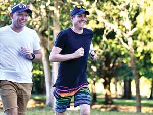 Mackay duo brave whopping 105km in honour of Anzacs