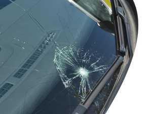 Man's mad outburst after driver honks horn