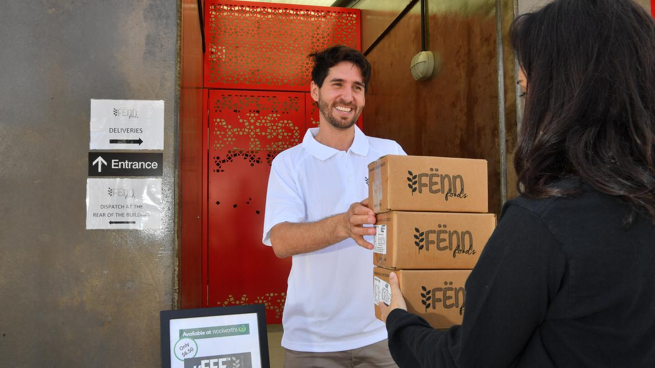 Alejandro Cancino of Veef, a locally-made vegan burger pattie, is offering giveaway patties to help residents who are struggling through the coronavirus pandemic. Photo: John McCutcheon