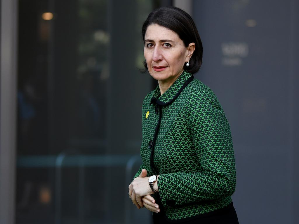 NSW Premier Gladys Berejiklian says 7200 tests were conducted on Thursday with only seven new cases. Picture: Joel Carrett/AAP