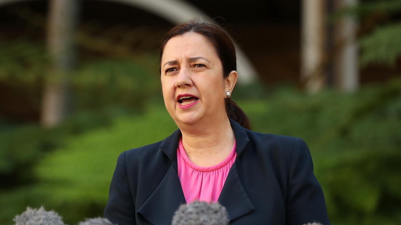 Qld Premier Annastacia Palaszczuk has been at odds with the NRL over relaunch plans.