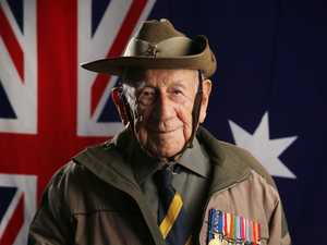 100-year-old Digger 'Corky' has never missed Anzac Day