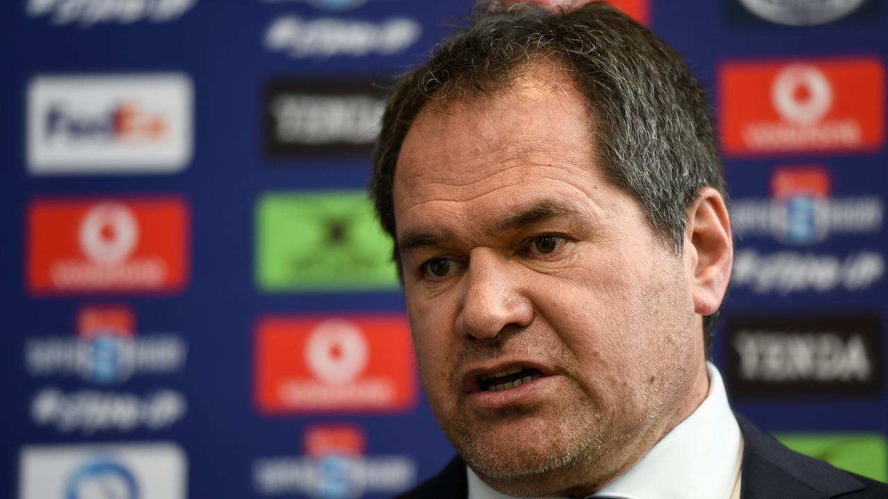Raelene Castle says her resignation won't impact Wallabies Head Coach Dave Rennie. Picture: AAP Image/Bianca De Marchi