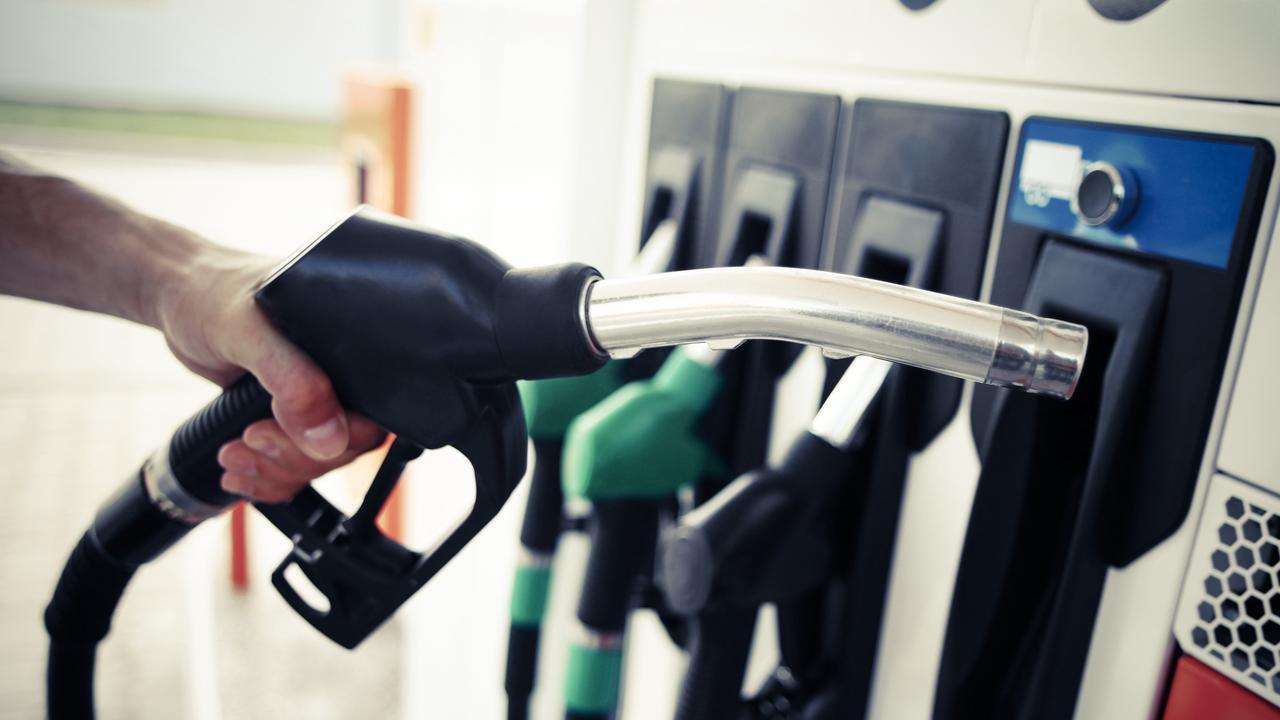 Generic petrol pump station photo.