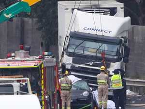 Ice pipe probe into Eastern Freeway truck driver