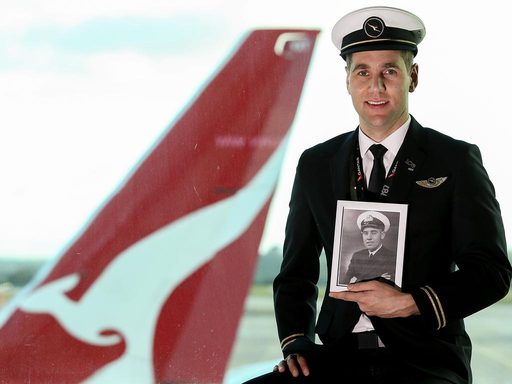 Qantas pilot Nick Thorne, of Victoria, is flying a Qantas Dreamliner from Melbourne to Buenos Aires to pick up 150 Australians and 20 New Zealanders who have been stuck in South America due to coronavirus for more than a month. Picture: Ian Currie