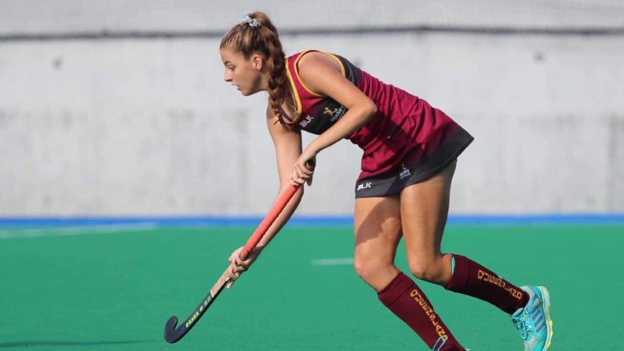 GOOD EXPERIENCE: Rockhampton's Jessica Moffat, pictured playing for Queensland at last year's under-18 nationals, recently returned from a training camp at the AIS in Canberra. Picture: Contributed