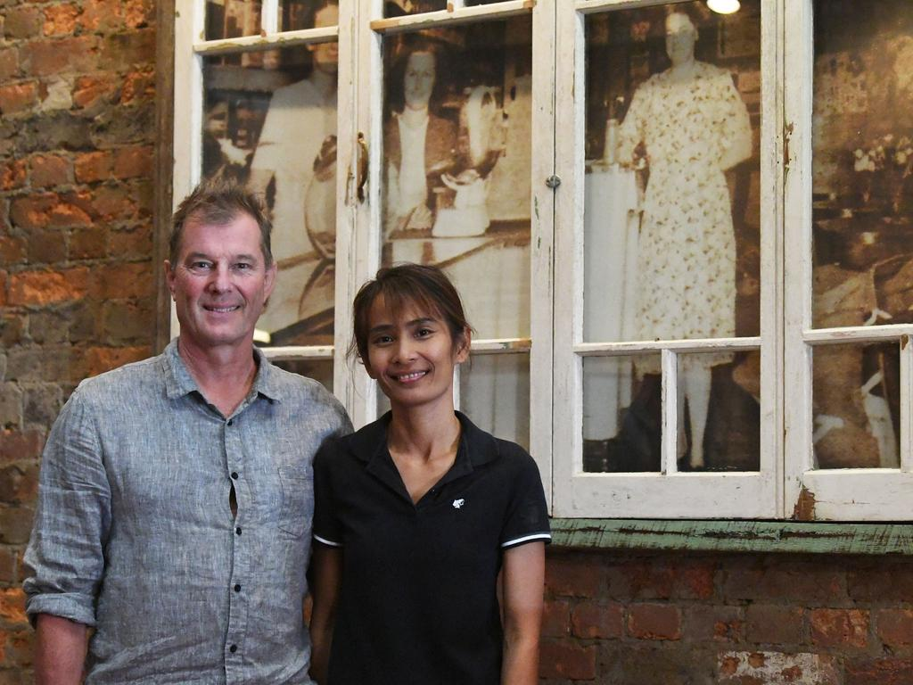 """Former owners of the Brown Jug Cafe, Thomas Stuehrenberg and Siriluk """"Sileen"""" Moonthiya"""