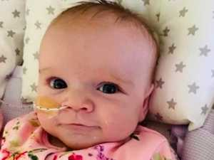 Baby makes 'miracle' recovery to beat virus