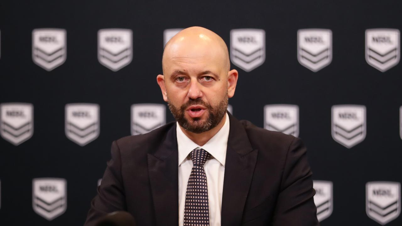 Former NRL CEO Todd Greenberg. Picture: Matt King/Getty