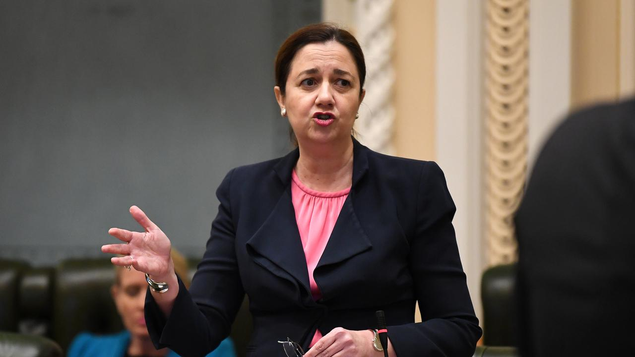 V'landys has been in constant contact with Queensland Premier Annastacia Palaszczuk. Picture: AAP/Dan Peled