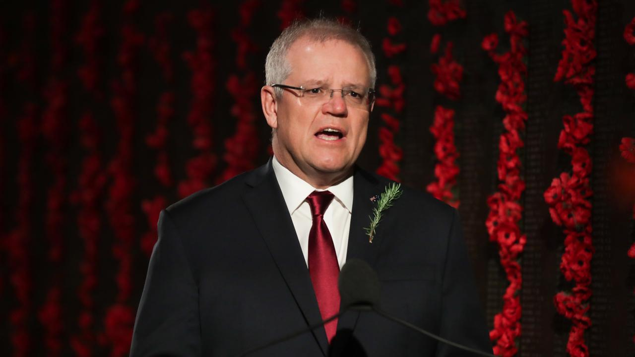 Prime Minister Scott Morrison has criticised homes for completely banning visits, instead of following the guidelines restriction visitors to no more than two per day. Picture: Getty