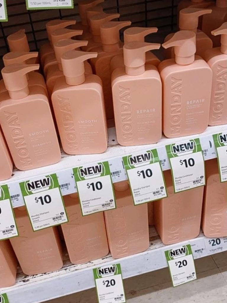 Shoppers have been snapping up a new $10 haircare product in Coles. Picture: Instagram