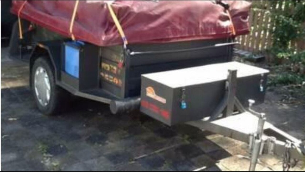Police are looking for a grey Sunset camper trailer with the registration DU9042 which was stolen from an Agnes Water address.
