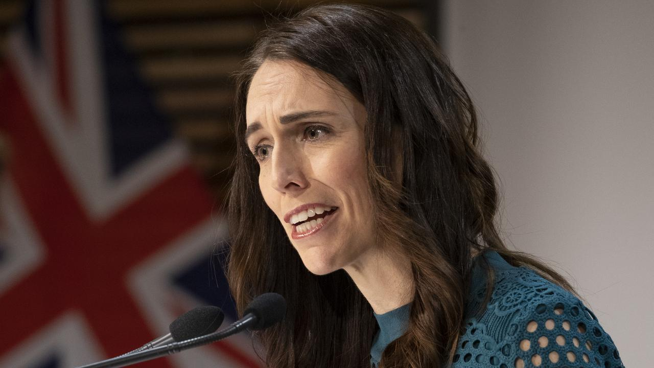 New Zealand Prime Minister Jacinda Ardern said she'd only consider reopening borders when confident the threat of coronavirus is gone. Picture: Mark Mitchell/Getty Images.