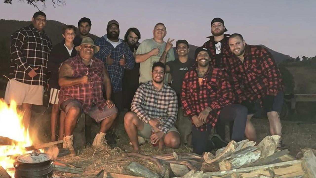Josh Addo Carr and Latrell Mitchell ignored the advice. Source: Instagram